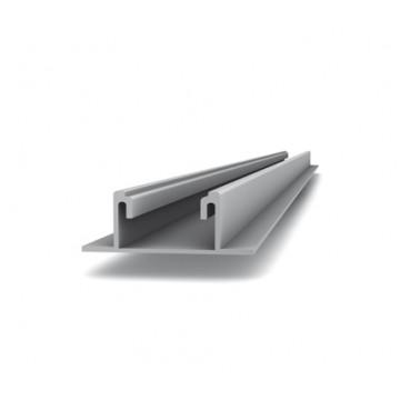 Ράγα για γρήγορη τοποθέτηση σε φύλλο λαμαρίνας  K2 MR Flat Rail 6,10